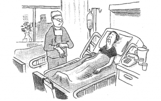 Hospital bill cartoon