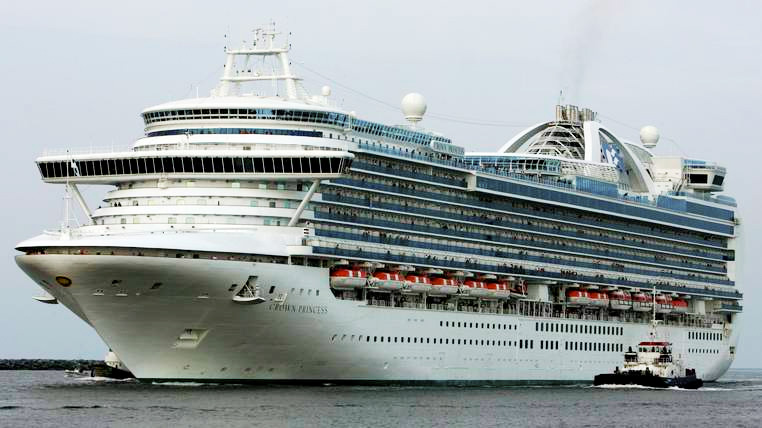 cruise ship high seas