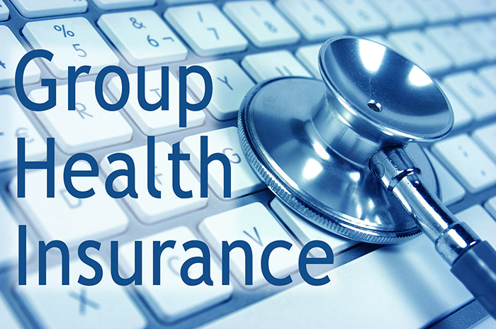 keyboard inviting group health insurance